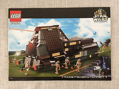 LEGO STAR WARS 7184 Trade Federation MTT *Instructions/Manual Only* (New)
