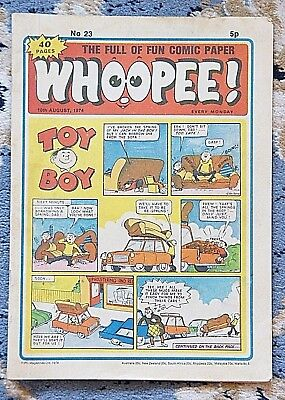 WHOOPEE No.23 COMIC -10th AUGUST 1974 - 40 PAGES 5p  EVERY MONDAY
