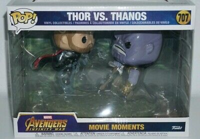 Funko Pop  Movie Moments Marvel: Avengers Infinity War - Thor Vs. Thanos  New