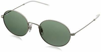 6f5ef10edb Ray Ban RB3594-911671-53 Beat Oval Sunglasses Silver-Tone Green Classic  Lenses