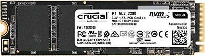 Crucial Client 500 GB Solid State Drive - PCI Express [PCI Express 3.0 x4] -