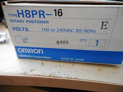 omron rotary positioner H8PR-16
