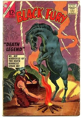 Black Fury #49 - Charlton 1964 - GD+