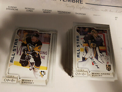 2018-19 OPC #1-600 COMPLETE SET w/ rc's/sp's MITTELSTADT McDAVID ++ O PEE CHEE
