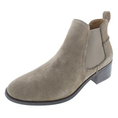 5487316e55e Steve Madden Womens Dicey Solid Ankle Block Heel Chelsea Boots Shoes BHFO  4984