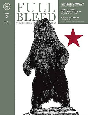 FULL BLEED: COMICS & CULTURE QUARTERLY VOL #2 HARDCOVER Print-Only Magazine HC