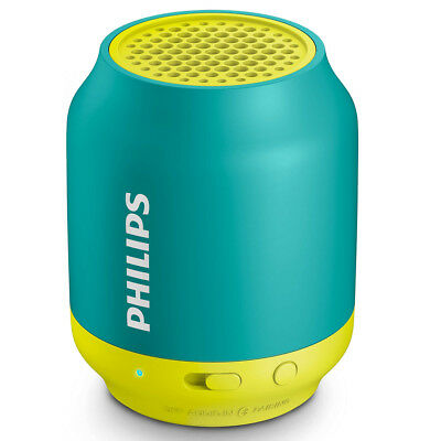 Cassa Speaker Bluetooth Wireless Altoparlante Portatile Smartphone Philips Verde