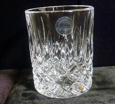 Set of 2 - Gorham Lady Anne Signature Crystal Double Old Fashion Glasses