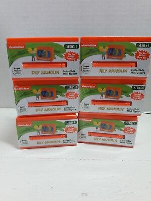 Giftable Sealed New Blind Box Series 1 Lot of 3 Nickelodeon Hey Arnold