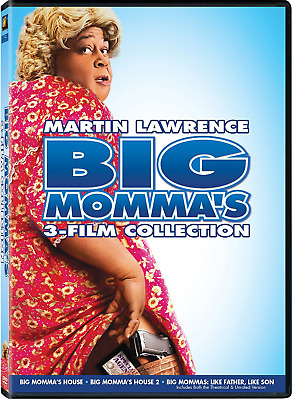 Big Momma's 3-Film Collection (DVD, 2015) - Usually ships within 12 hours!!!