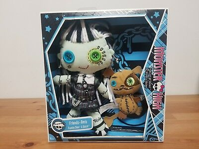 Monster High Friends Plush Doll - Frankie Stein and Watzit Stuffed Toys