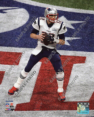 Tom Brady New England Patriots 2018-2019 Super Bowl 53 Champions 8X10 Photo