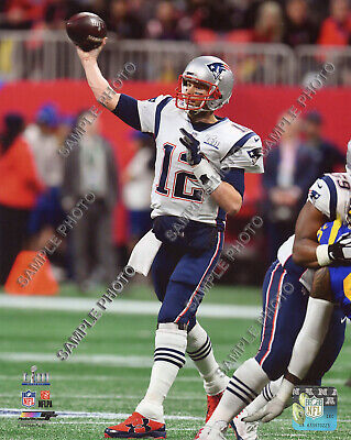 Tom Brady New England Patriots 2018-2019 Super Bowl 53 Champions 8X10 Photo #3