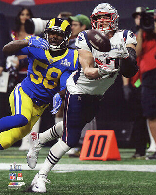 Rob Gronkowski New England Patriots 2018-2019 Super Bowl 53 Champs 8X10 Photo