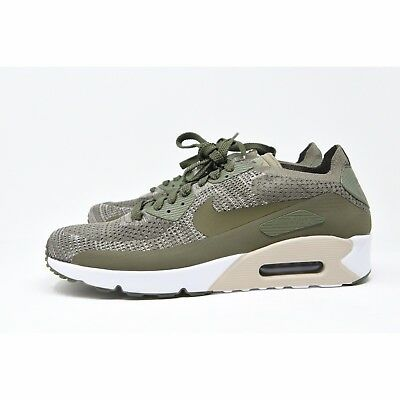 watch 85374 56604 NIKE AIR MAX 90 ULTRA 2.0 FLYKNIT SNEAKERS - Olive Green 875943200 Men's  11.5