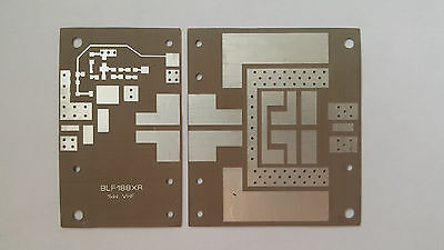 PCB for 1kw VHF LDMOS amplifier 144 MHz, TC-350 board material