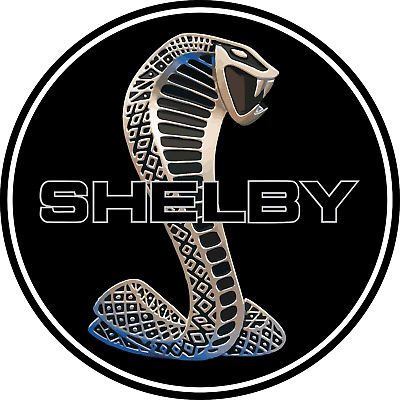 Cobra Shelby Ford Mustang GT American Muscle Car Vinyl Sticker Decal Bumper Wall