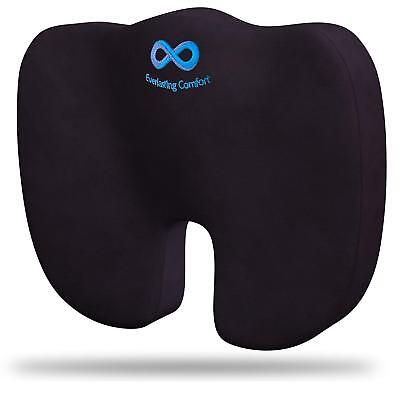 Everlasting Comfort Seat Cushion- Relieve Back, Sciatica, Coccyx & Tailbone Pain