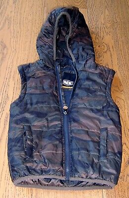 Indie Boys Hooded Puffer Vest Sz  4