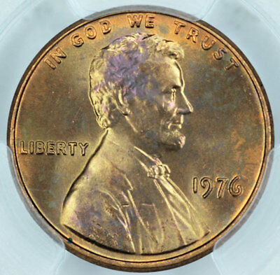 1976 PCGS MS66RD Lincoln Cent