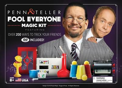 Penn & Teller Fool Everyone Magic Kit With Over 200 Tricks Royal Magic Fool Us