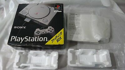 SONY PlayStation 1 Empty Console Fighting Box & Inserts SCPH-3500