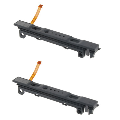 2x Left Rail Slider Moudle Assembly with Flex Cable Part For Nintendo Switch