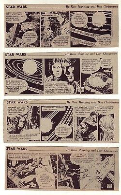 Star Wars by Al Williamson - 26 scarce daily comic strips from December 1981