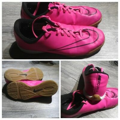 timeless design 4221d 2812a Chaussures Foot salle Nike Mercurial Victory V IC Hyper Rose Noir