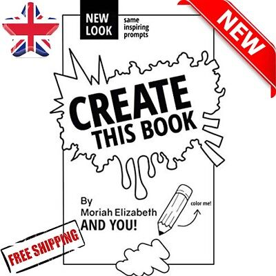 Create This Book Moriah Elizabeth New Look Child Kids Colouring Art Design Gift