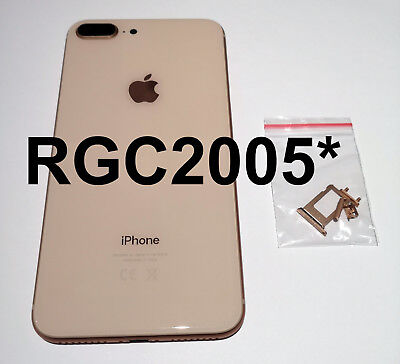 NEW IPHONE 8 PLUS REPLACEMENT BACK REAR HOUSING & FRAME BATTERY GOLD or ROSE