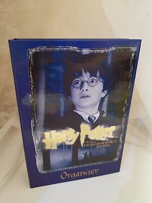 (2001) Harry Potter and the Philosophers Stone movie, Organiser diary Unused