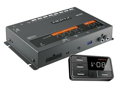 Hertz H8 DSP + DRC 8-Kanal DSP Prozessor HighLevel Audioprozessor incl. Remote