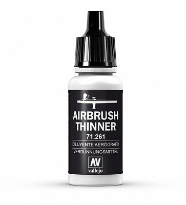 AV Vallejo Model Air 17ml Airbrush Thinners # 261