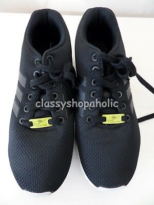on sale 26ef5 4e754 Adidas Torsion Zx Flux Black Ladies Trainers UK 6.5 - Good Used Condition