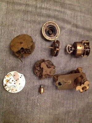 Antique Clock Movements Clockmakers Repair Spare Parts