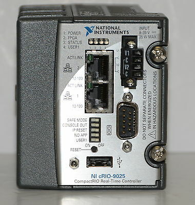 *NEW* National Instruments NI-9025 Controller:800 MHz,512MB DRAM,4GB Storage