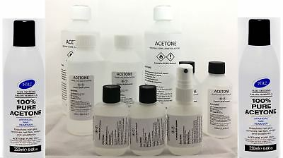 100 % Pure Acetone Acrylic Nail Tips ,Nail Glue, Remover, SUPER STRONG ACETONE