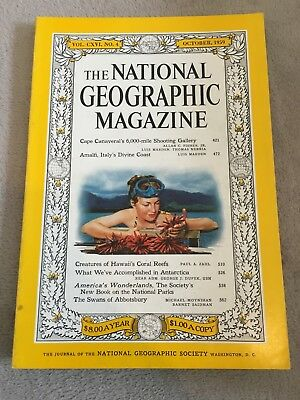 Vintage National Geographic Magazine October 1959