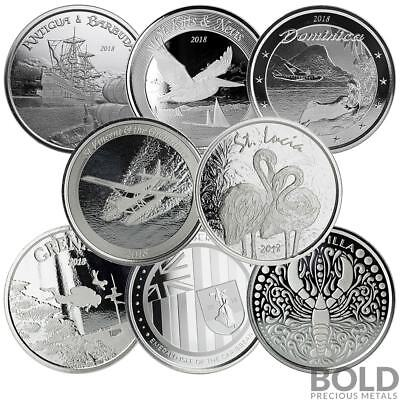 BOLD Set: 2018 EC8 - 8 Coin Collector Set