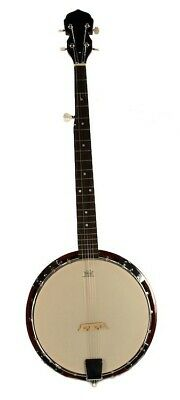 5-String Traditional Bluegrass Banjo with 38'' Remo Head - Sepele Wood