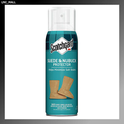 3M ScotchGard LEATHER PROTECTOR for Suede & Nubuck Spray 4506, 1 CAN 7 oz