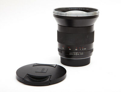 Zeiss Distagon T* ZE 21 mm 21mm f/2.8 f2.8 Lens For Canon Mount - Sharp!