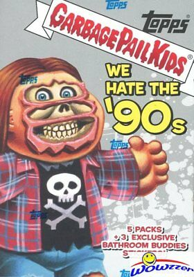 2019 Topps Garbage Pail Kids Series 1 WE HATE THE '90's EXCLUSIVE Blaster Box !