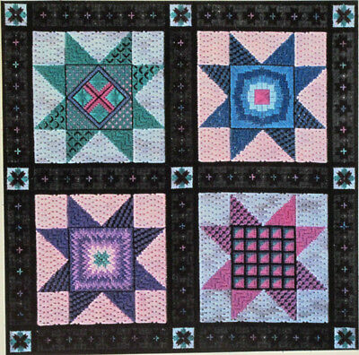 Genny Morrow Starry Starry Night Counted Needlepoint Chart/Pattern