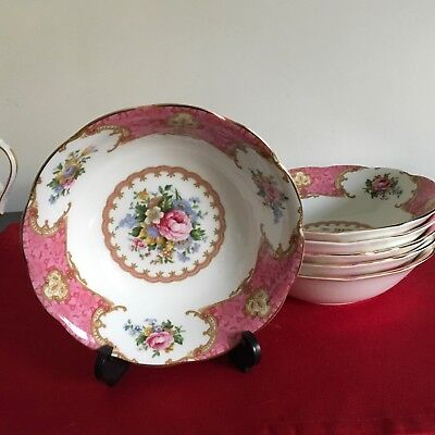 Royal Albert LADY CARLYLE superb CEAREAL BOWL  last one
