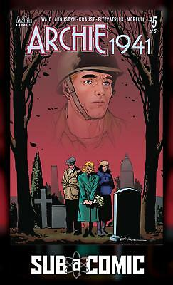ARCHIE 1941 #5 COVER A KRAUSE (ARCHIE 2019 1st Print) COMIC