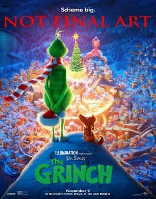 Dr. Seuss' The Grinch (DVD,2018)
