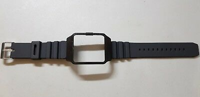 Sony SmartWatch 3 SWR50  Black Housing (adapter) & Black Rubber Strap