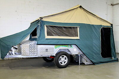 Hard Floor Off Road Camper Trailer
